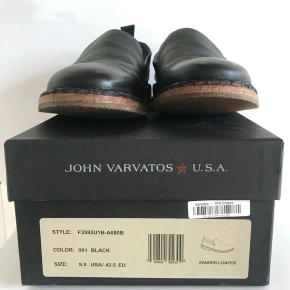 7c85b011f77 John Varvatos Other - Like New John Varvatos Zander Black Leather Loafer